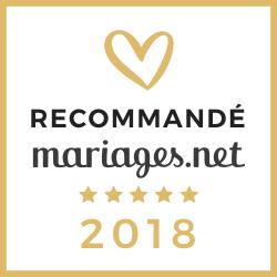 Recommandé 2018 - mariages.net